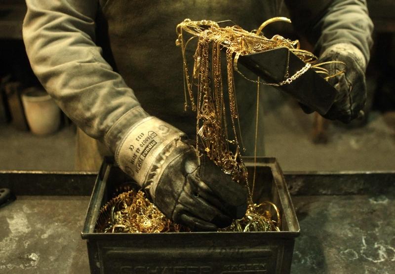 Как из золота сделать